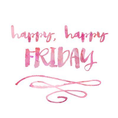 It's Friday!!